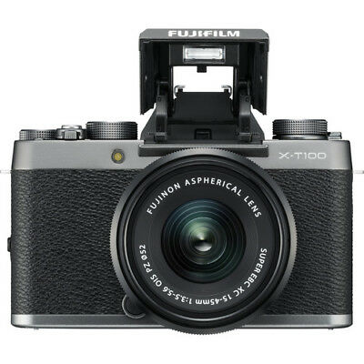 NEW Fujifilm X-T100 Mirrorless 24.2MP Digital Camera  *Silve