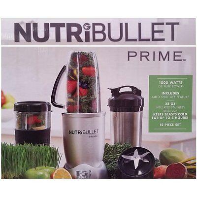 Magic NutriBullet Prime 1000w 12Piece HighSpeed Blender Mixer Fruits Vegetable