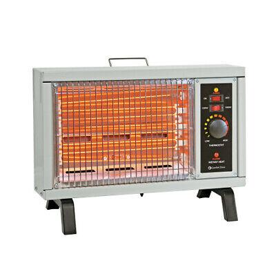 Comfort Zone CZ550 1500 Watt Deluxe Radiant Heater