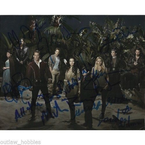 Once Upon A Time Season 3 Carlyle Morrison Autographed Signed 8x10 Photo COA