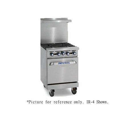 Imperial Ir-4-e 24 Electric Restaurant Range With Round Elements