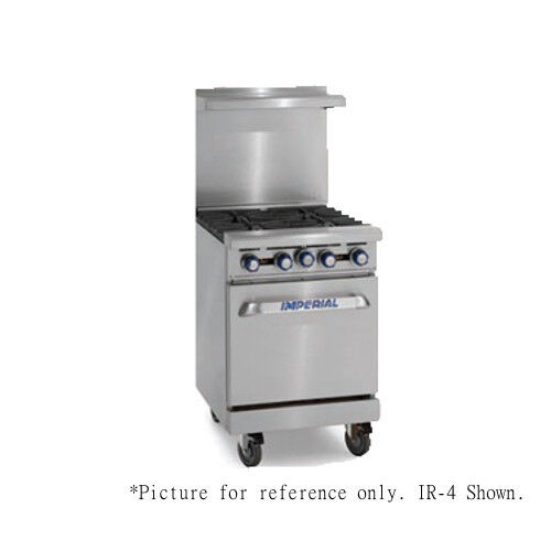 "Imperial Ir-4-e 24"" Electric Restaurant Range With Round Elements"