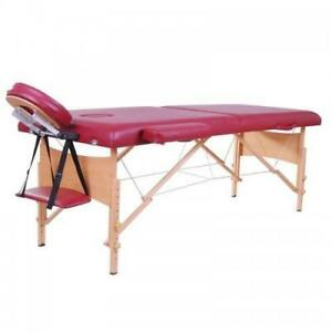 Brand New @ WWW.BETEL.CA || PICK UP OR FREE DELIVERY|| Premium Wooden Portable Massage & Physiotherapy Table
