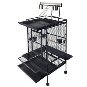 Parrot Pet Aviary Bird Cage 170cm Black Silverwater Auburn Area Preview