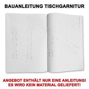 PROFI-BAUANLEITUNG-SITZMOBEL-ESSTISCH-TISCHGARNITUR-BANK-MIT-TISCH-CAMPINGTISCH