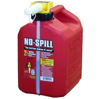 No-spill 1405 2-12-gallon Poly Gas Can