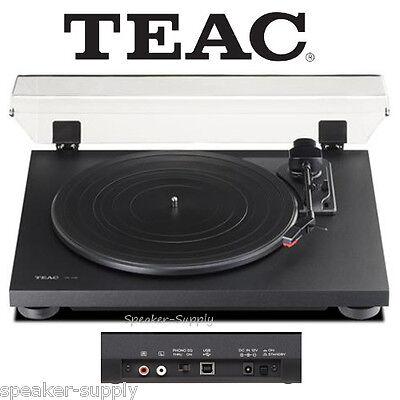 Teac TN-100 Turntable Vinyl Record Player w/ Preamp & USB Digital Output Black