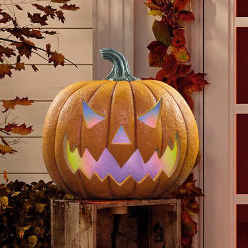LED Halloween Pumpkin with Lights & Sounds