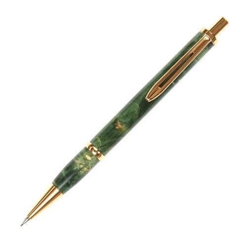 Longwood Pencil - Green Maple Burl