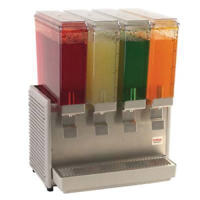Classic Bubbler Cold Beverage Dispenser - 4 Mini Bowls 20-12w
