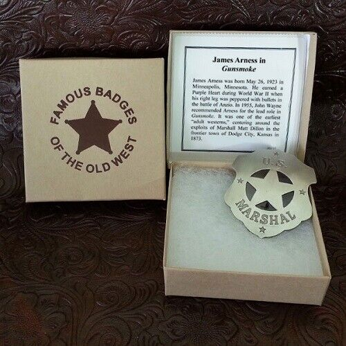 U.S. Marshall (Gunsmoke) Badge