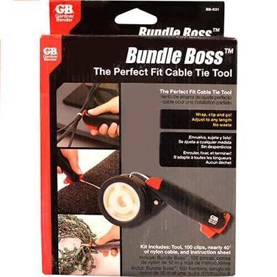 Gardner Bender Bb-k01 Bundle Boss The Perfect Cable Tie Tool Zip Tie Tool