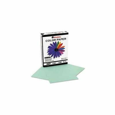 Universal Office Products 11203 Colored Paper 20lb 8-12 X 11 Green 500