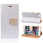 Silver Wallet Case for iPhone 5c
