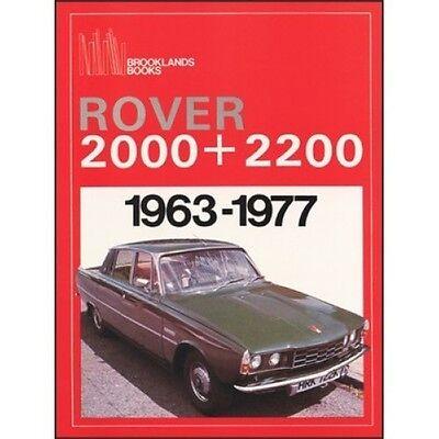 Rover 2000 & 2200 1963-1977 book paper