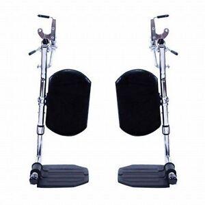 Invacare Wheelchair Elevating Foot Leg Calf Rest Pad - (pair)