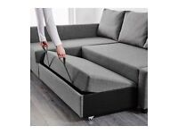 Corner couch /double bed
