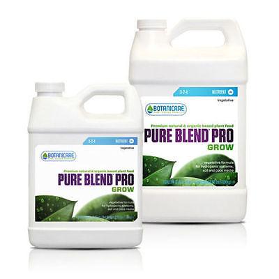 Botanicare Pure Blend Pro Grow 1 Gallon Hydroponics Nutrient 3-2-4 Veg Organic