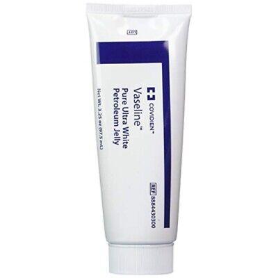 Vaseline Pure Ultra White Petroleum Jelly 3.25 Oz. Tube 8884430300 Covidien