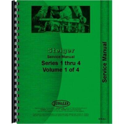 Steiger St Pt Pta Cm Km Cs Ks Series 1 2 3 4 Tractor Service Manual