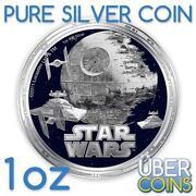 Star Wars Silver Coin