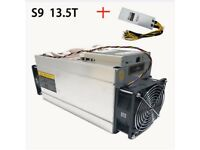 Bitmain Antminer S9 13.5TH/s (includes APW3+ PSU)
