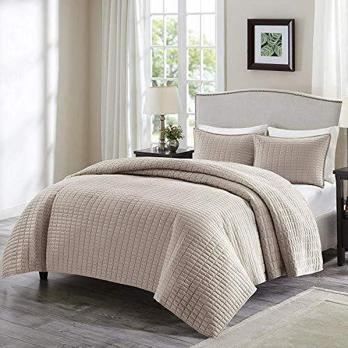 Comfort Spaces Kienna 3 Piece Quilt Coverlet Bedspread Ultra