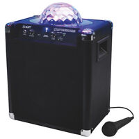 ION Party Rocker Bluetooth Speaker with Lights