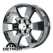 Factory Chevy Chrome Wheels
