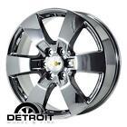 Factory Chevy Chrome Wheels