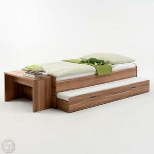 bett nussbaum ebay. Black Bedroom Furniture Sets. Home Design Ideas
