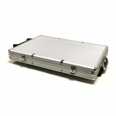 Rolling Aluminum Poker Chip Case, Holds 1,000 Poker (Aluminum Poker Chip Case Holds)