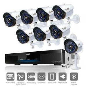 Out door security camera system - 8 cameras - - See video - FREE SHIPPING