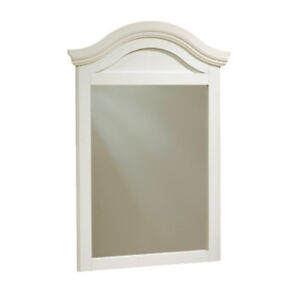 South Shore Summer Breeze Contemporary Rectangular Mirror -White