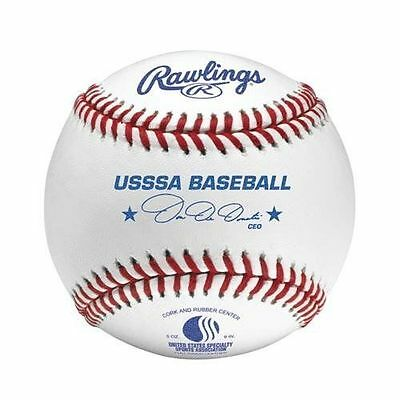 Rawlings ROLB1 Official League USSSA Blem Baseball 5 DOZEN Practice Training