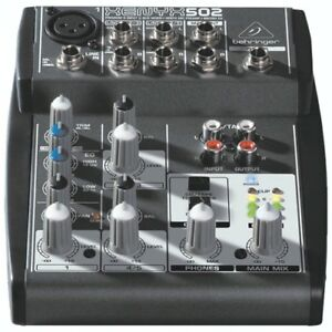 Behringer Xenyx 502 Premium 5-Input MIXER  - NEW IN BOX
