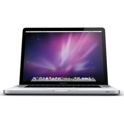 "Apple MacBook Pro 15.4"" Intel Dual-Core 8GB RAM 128GB SSD Airport WiFi MAC OSX"