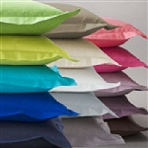 Pillow Cases All Solid Colors & Sizes 1000 Thread Count 100%