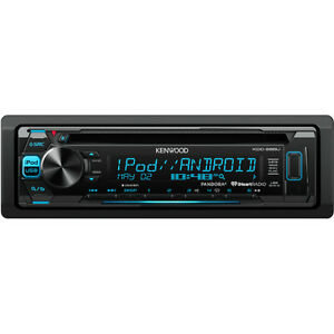 Kenwood CD/MP3/WMA/FLAC with Front USB and Auxiliary Input