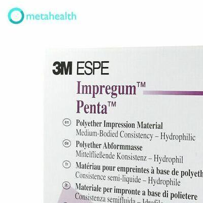 3m Espe 31644 Impregum Penta Polyether Medium Body Double Back 2pk