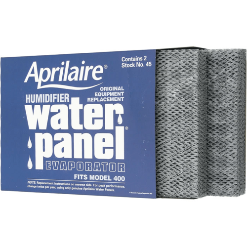 Genuine Aprilaire 45 Humidifier Water Panel Filter 2 PACK fo