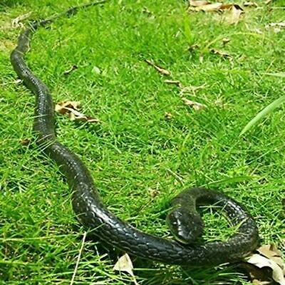 """50"""" Realistic Snake Snake Rubber Lifelike Durable Garden Scary Gag Props Toy"""