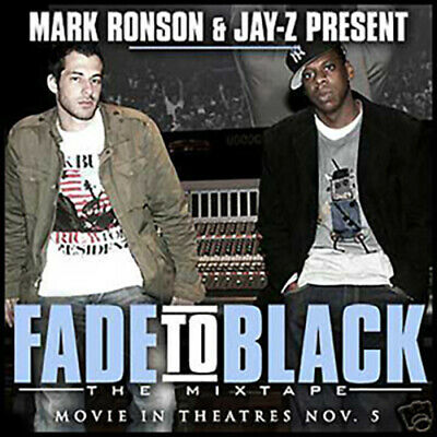 Mark Ronson Jay-Z Fade to Black The Mixtape Best of Jay-Z Jigga Shawn Carter