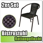 Rattan Bistrostuhl