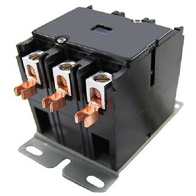 Packard C360b 60 Amp 120 Vac 3-pole Definite Purpose Contactor Hvac