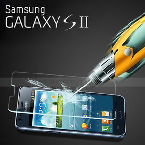 New LCD Tempered Glass Screen Protector for Samsung Galaxy S2