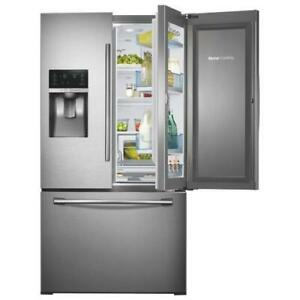 Samsung RF28HDEDBSR 36 Refrigerator With Thru Door Water Ice Dispense