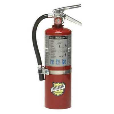 Buckeye 5 Lb Abc Fire Extinguisher Certified Rating 3a-40bc Wvehicle Bracket
