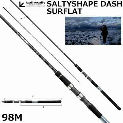 Tailwalk SALTYSHAPE DASH SURFLAT 98M Spinning Rod Surf Game