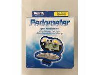 Tanita Pace Pedometer Activity Monitor Step Counter - Blue PD637